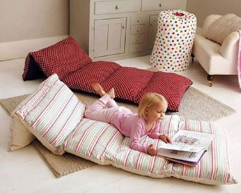 fabriquez un coussin de sol pour vos enfants il n y a. Black Bedroom Furniture Sets. Home Design Ideas